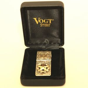 Vogt Money Clip Sterling Silver and Gold